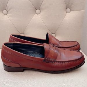 {COLE HAAN} Brown Leather Loafers